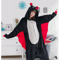 Pijama Cosplay Morcego Vampiro Unissex