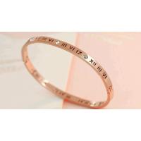 Bracelete Rígido Números Romanos