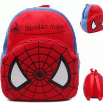 Mochila Infantil de Pelúcia Modelo Homem Aranha