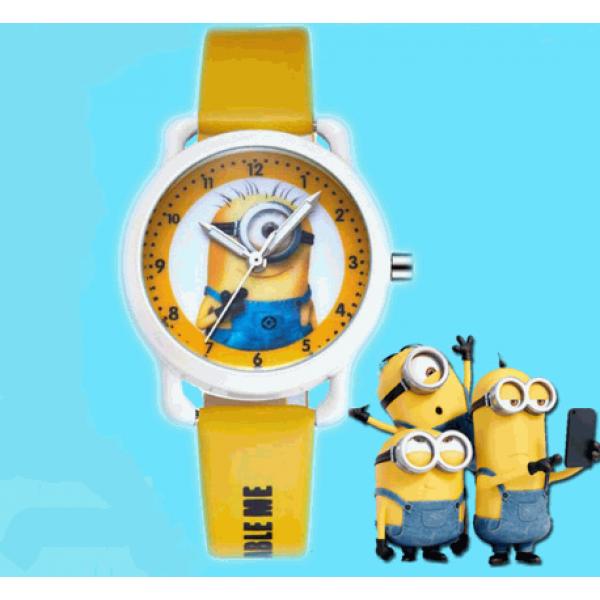 1ae0b8d0f6e Relógio Infantil Modelo Minions