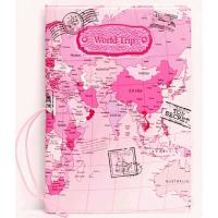 Capa Para Passaporte Mapa Mundi