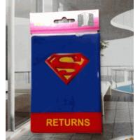 Capa Para Passaporte Modelo Superman